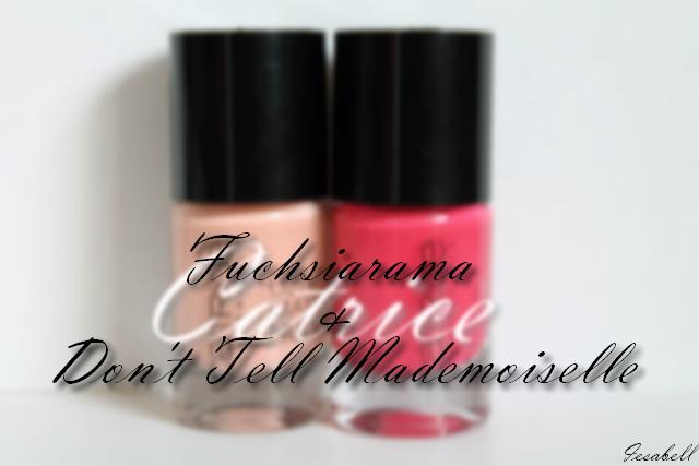 Catrice Fuchsiarama & Don't tell mademoiselle